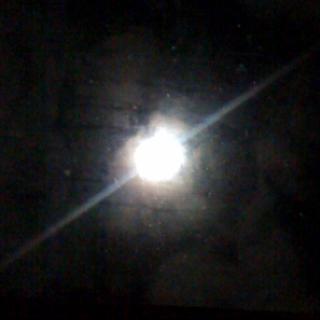 Beautiful full moon tonight